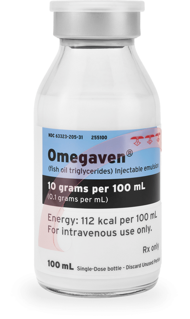 photo of Omegaven vial
