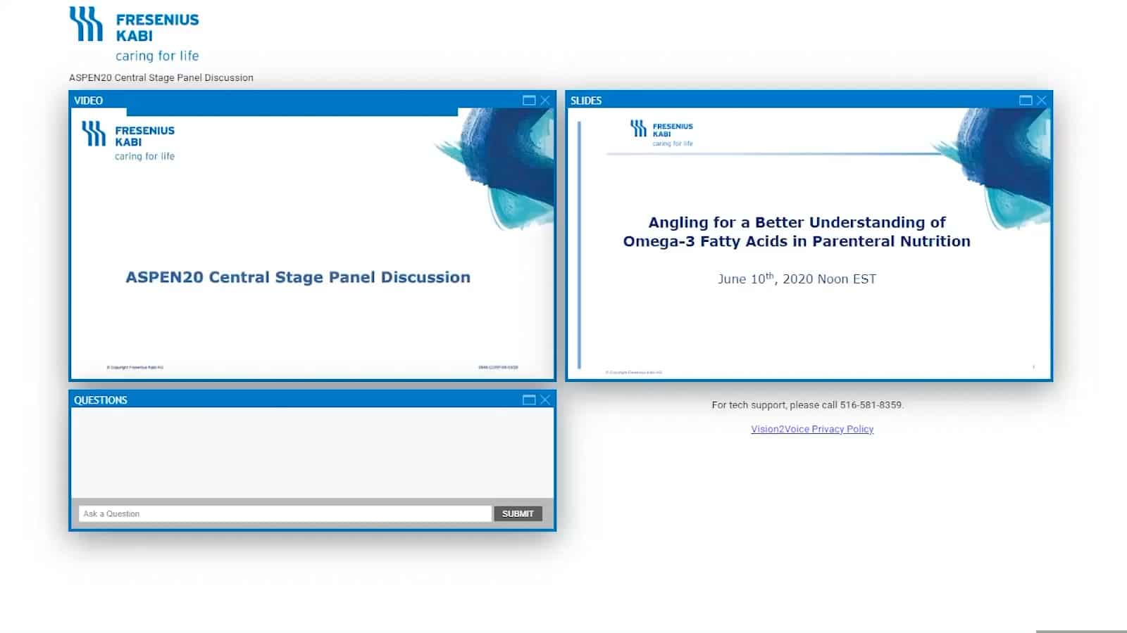 ASPEN20 Central Stage Presentation
