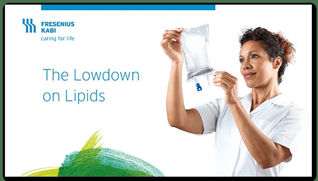 The Lowdown on Lipids